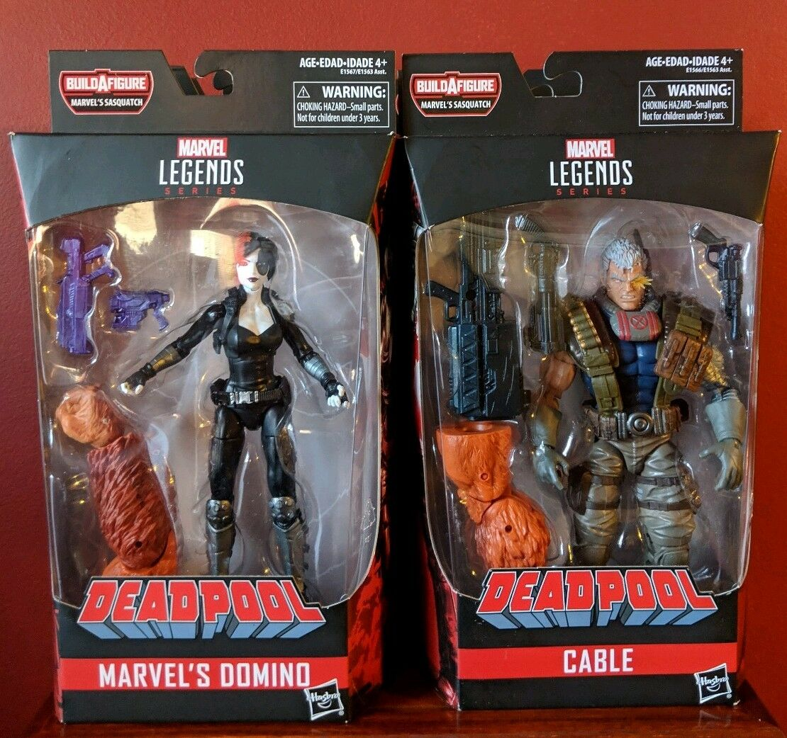 Marvel - legenden kabel für deadpool grauen domino x 23 deathlok paladin bigfoot baf