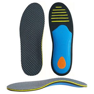 Men-Gel-Orthotic-Sport-Running-Insoles-Insert-Shoe-Pad-Arch-Support-Cushion-RF