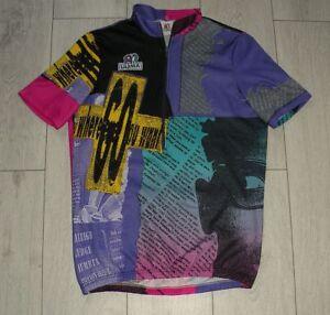Ultima-034-L-034-Vintage-Maglia-Cycling-Shirt-Trikot-Jersey-Retro