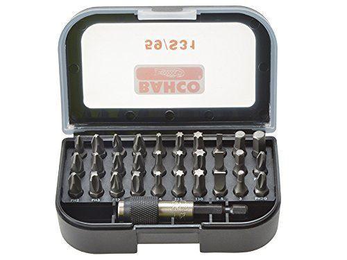 Bahco 59S31 Bit Set PH/PZ/TX (31 Pieces)