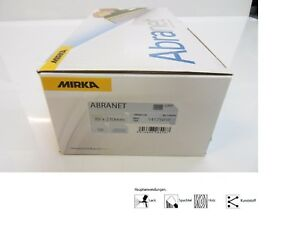 Mirka Abranet ACE Schleifgitter Schleifstreifen 70x125 mm Körnung frei wählbar
