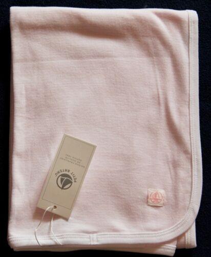 Petit Bateau leichte Babyringeldecke rosa NEU Baumwolle Schnuffeltuch