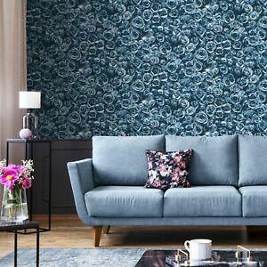 Rosalee-Floral-Papier-Peint-Fleurs-Bleu-158504-Muriva
