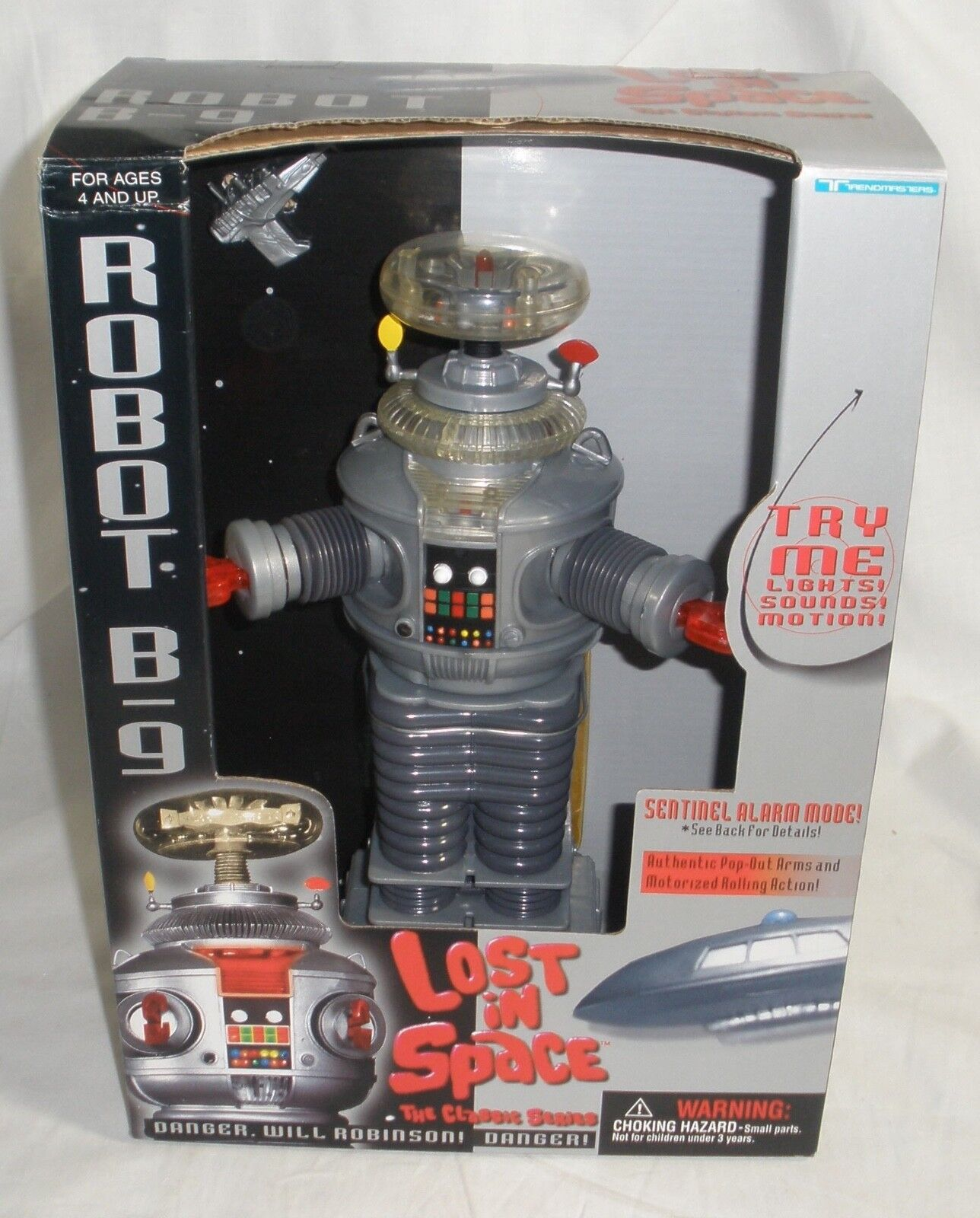 Lost in Space Robot B9 Mint in box Collectors Quality Condition Trendmasters