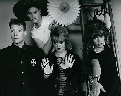 The B-52's Gfa Cindy Wilson & Kate Pierson Band Signed 8x10 Photo B2 Coa