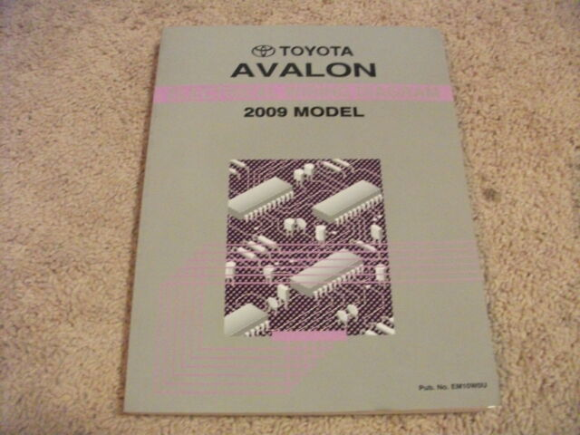 2009 Toyota Avalon Electric Wiring Diagrams Service Manual