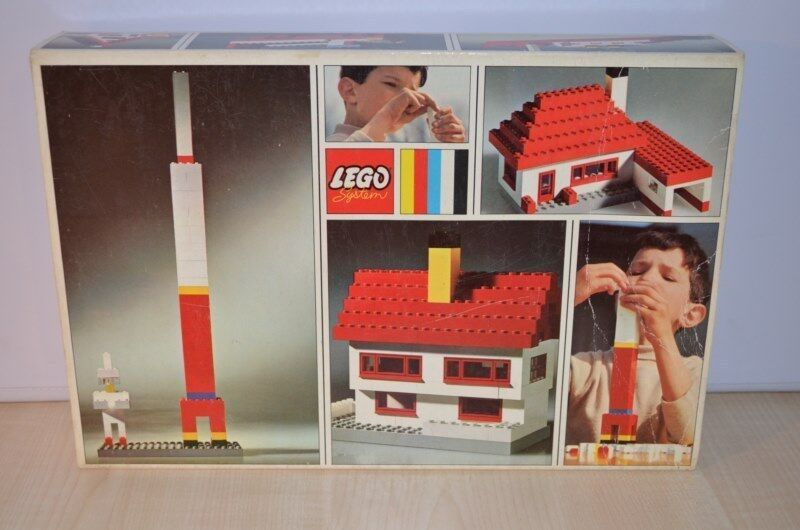 00759 LEGO Basic Universal Building Set - Set 033 033-2 + BOX OVP MIB