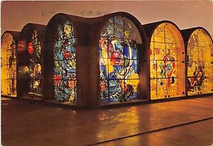 B43693 The Tribes of Israael Stained glass Winowos Jerusalim  israel