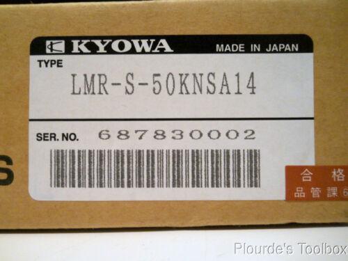 New Kyowa SS Compression Load Cell LMR-S-50KNSA14 7 Volts 50 kN