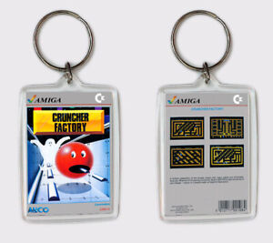 Brillant Cruncher Factory Commodore Amiga Llavero Keyring Adopter Une Technologie De Pointe