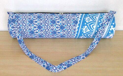 Details about  /Indian Cotton Tote Strap Carry Bag Adjustable Shoulder Fitness Exercise Yoga Mat