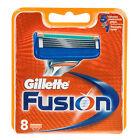 6 X Gillette Fusion Razor Blades of 8 Cartridges ( 48 Shaving Blades)