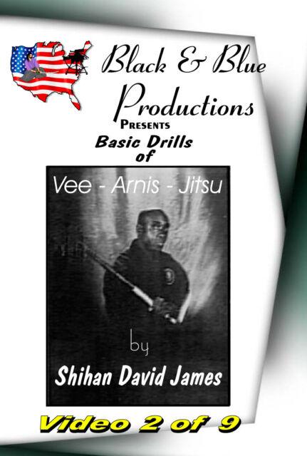 David James - Vee-Arnis-Jitsu Vol. #2 Punching, Choking , Armlocking Drills DVD