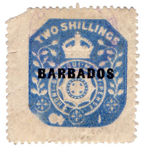 I-B-Barbados-Revenue-Duty-Stamp-2-die-I