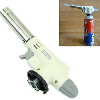 Gas Butane Flame Gun Blow Torch Burner Welding Solder Iron Soldering Lighter New