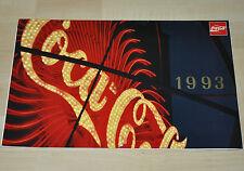 Bel vecchio Coca-Cola Calendario 1993 USA Coca Cola calendario