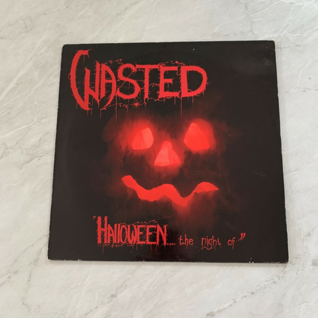 LP, Wasted, Halloween.... The Night Of, VG+ / NM (Misprint?…