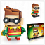 LOZ Brick Headz Mini Superhero Toys Marvel DC Spiderman Groot Batman Robin