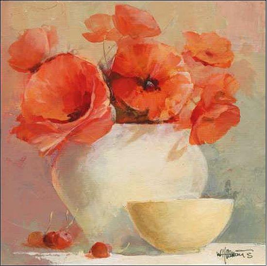 Willem Haenraets  LOVELY Poppies II II II telaio-Immagine Tela PAPAVERO FIORI ARANCIONE f46003