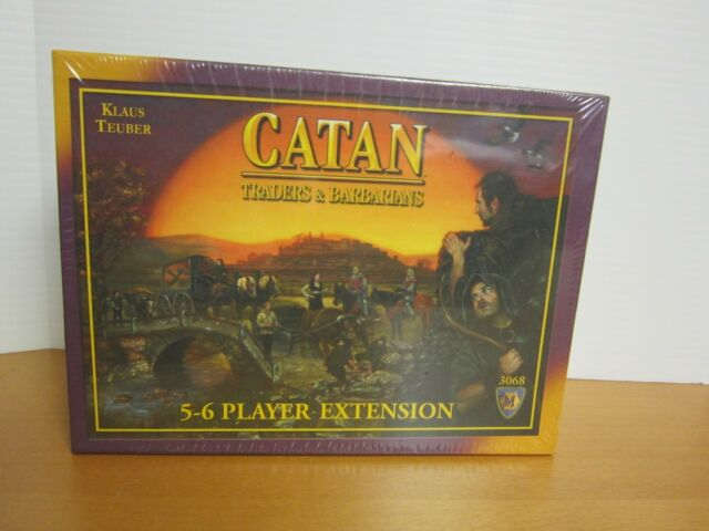 Catan Traders and Barbarians #3068 *Not the main game* 5-6 Player Extension only