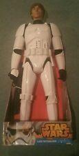 Star Wars 31 Inch Luke Skywalker Stormtrooper Figure Ships in 24 hrs!