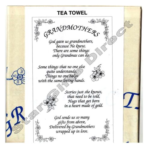 TEA TOWEL Funny CARAVANNERS DELIGHT NEW Caravan Gift *SENT RM 1ST CLASS