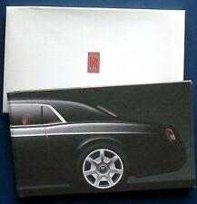 Prospekt brochure rolls royce 101ex 2006