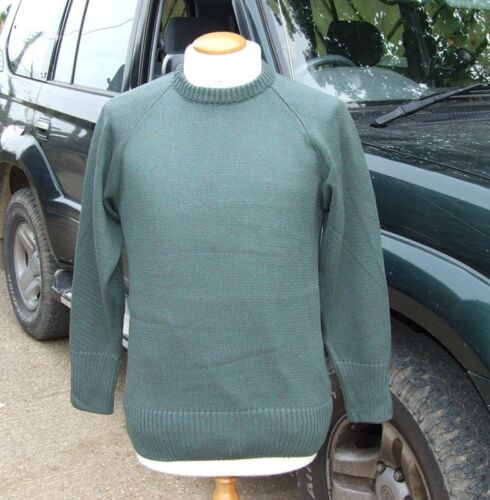New ! Various Sizes Magicfit Green Hunting Hiking Crew Neck Jumper
