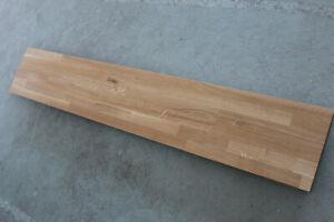 Regalbrett Eiche Keilgezinkt Massiv Holz Holzplatte Wandboard