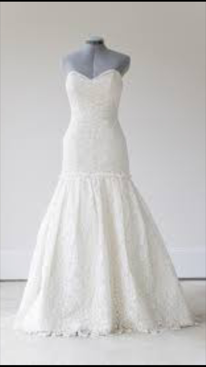 Modern Trousseau Monroe Lace wedding Dress Gown B… - image 6