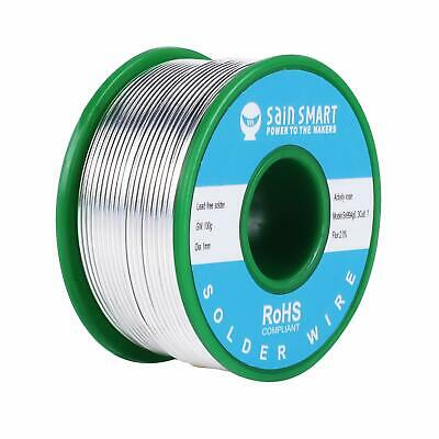 """100g Tin Solder Wire .031/""""//0.8mm Lead Free Rosin Core Soldering Sn-0.3Ag-0.7Cu"""