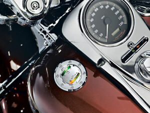 Harley FLHR Road King 1995-2013Infor<wbr/>mer LED Fuel/Battery Gauge by Kuryakyn