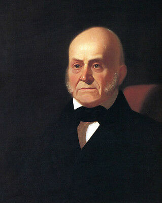 US PRESIDENT JOHN QUINCY ADAMS 8X10 GLOSSY PHOTO PICTURE