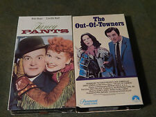Fancy Pants(NEW) + The Out-of-Towners (VHS x2) Lucille Ball_Bob Hope_Jack Lemmon