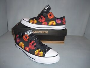 2a54ce9d4fbb Womens Converse Chuck Taylor All Star Tropical Print Low-Top Casual ...
