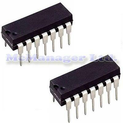 2x HCF4001 CD4001 MC14001 Quad 2 INP ni Puerta C-MOS IC