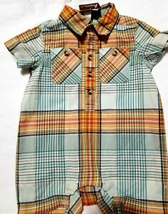 Baby Boy/'s G-Cute Sailor Anchor One Piece /& Bow Tie Formal Shirt Sizes 0-9 Mo