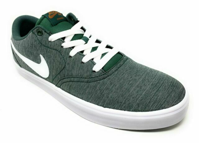 Size 10 - Nike SB Check Solar Canvas Premium Midnight Green for ...