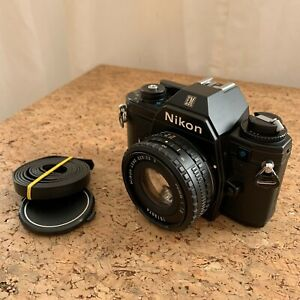 Nikon EM inkl. 50 mm Series E f/1.8 | Body + Objektiv | *TOP–Zustand!*