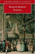 Evelina by Frances Burney (2002 Oxford World's Classics Paperback) HH611