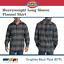 Dickies-Men-039-s-Heavyweight-Flannel-Plaid-Shirt-Long-Sleeve-Pocket-Relaxed-WL652 thumbnail 5