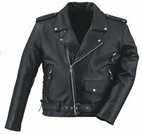 Fmc Mens Zip Out Liner Side-lace Motorcyle Jacket 205crz For Motorcycle Riders