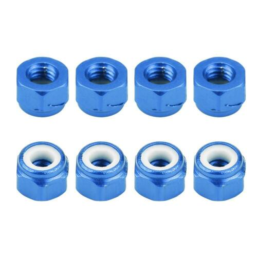 8pcs RC Car Upgrade Part M3 Nut for FS 1//18 Remote Control Electric Car Truck
