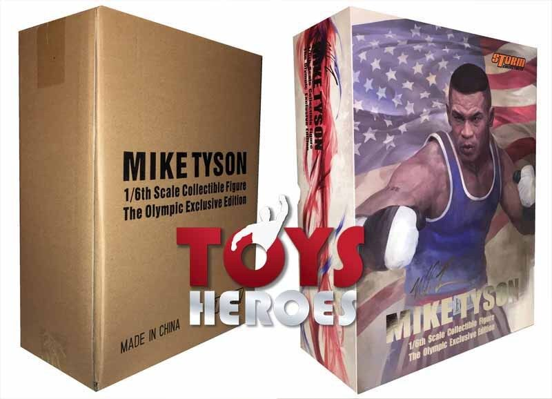 STORM COLLECTIBLES TOYS MIKE TYSON OLYMPIC SPECIAL EDITION BlauFIN Ready to ship
