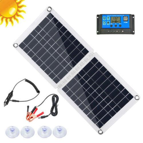 Laderegler Für Boot RV Camping 60W Solar Panel Solarmodul 18//12//5V Dual USB