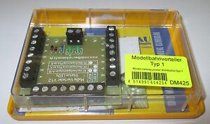 Modellbahn-Verteiler-mit-26-Klemmen-und-Status-LED-s-gt-NEU-OVP