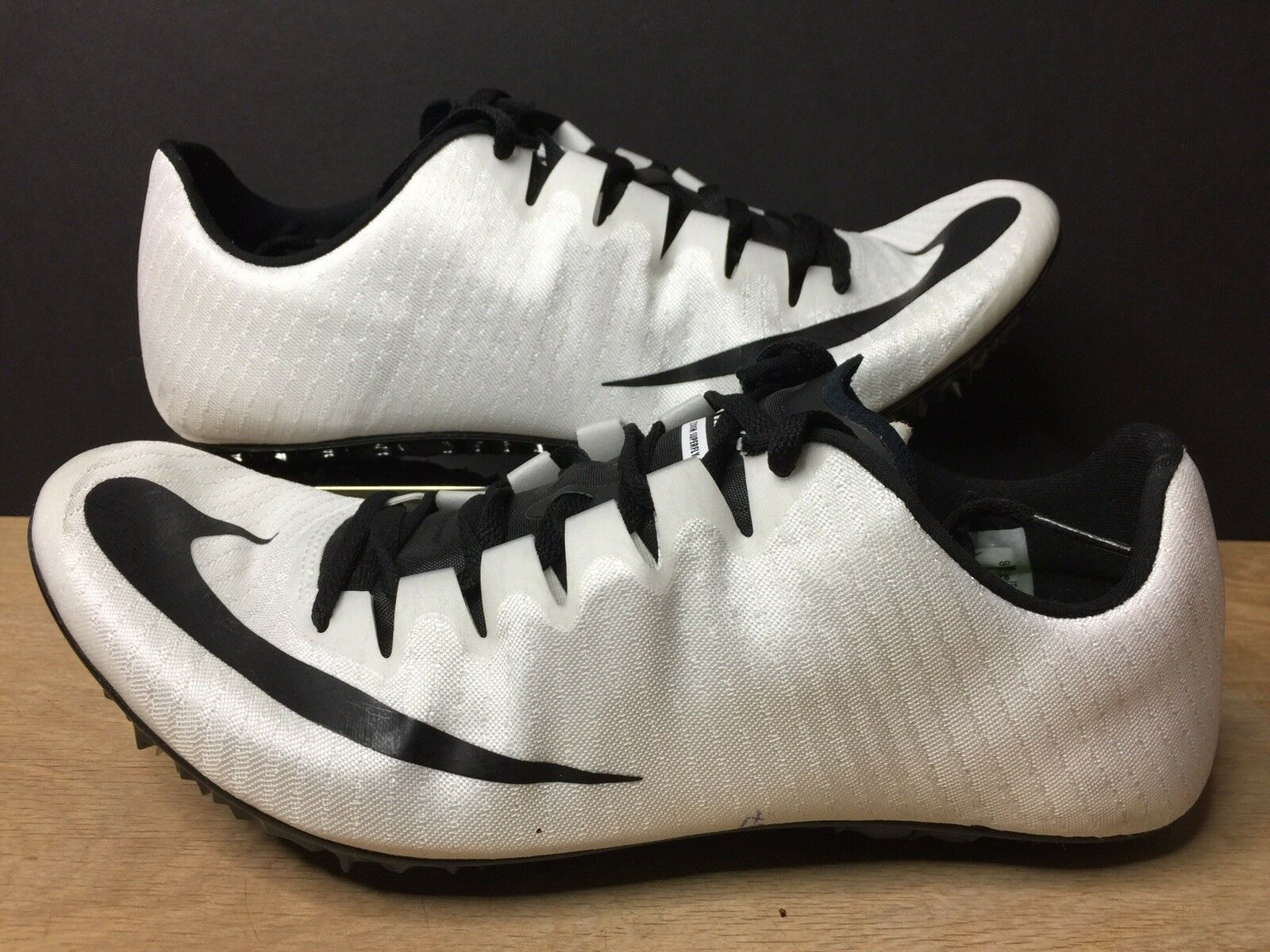 purchase cheap 0b828 0658b Nike Superfly Elite Unisex Track Spikes shoes White 835996-107 Mens Mens  Mens Size 10.5