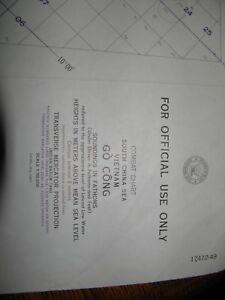 Competent 1967 Nautical War Chart,go' Cong Maritime confidential