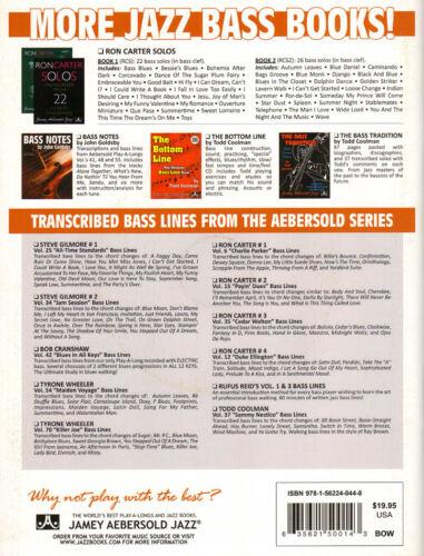 John Goldsby Arco Jazz Bowing Techniques Double Bass Kontrabass Noten mit CD