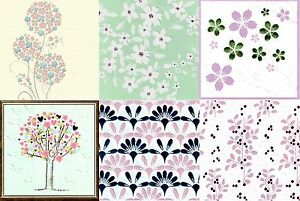 Image Is Loading Assorted Pack Of 6 Floral Birthday Greeting Cards